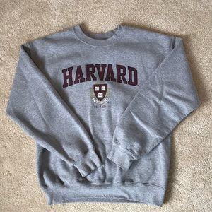 Harvard crew neck sweatshirt